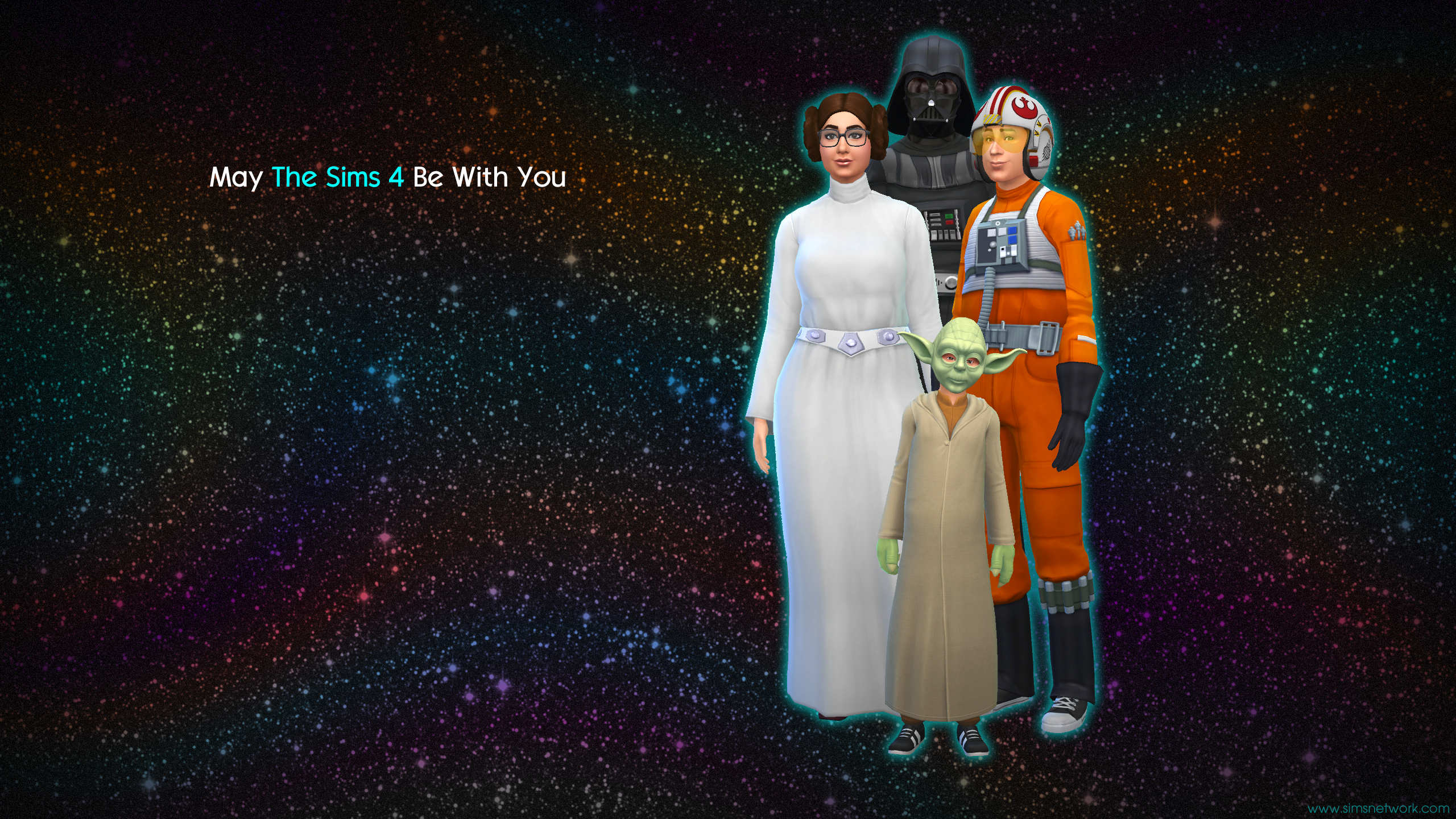 may the sims 4 be with you wallpapers