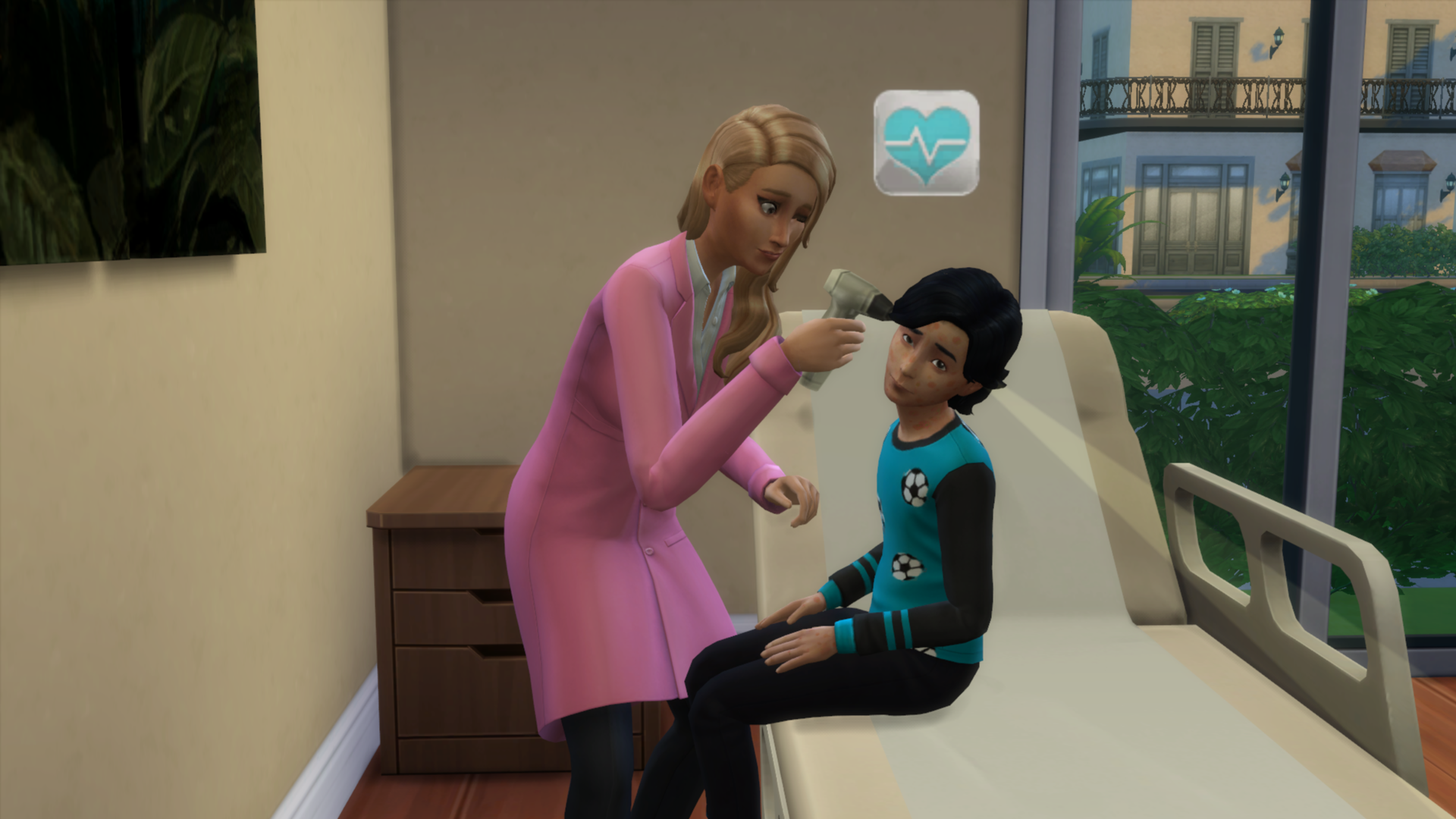 the sims 4  get to work hands