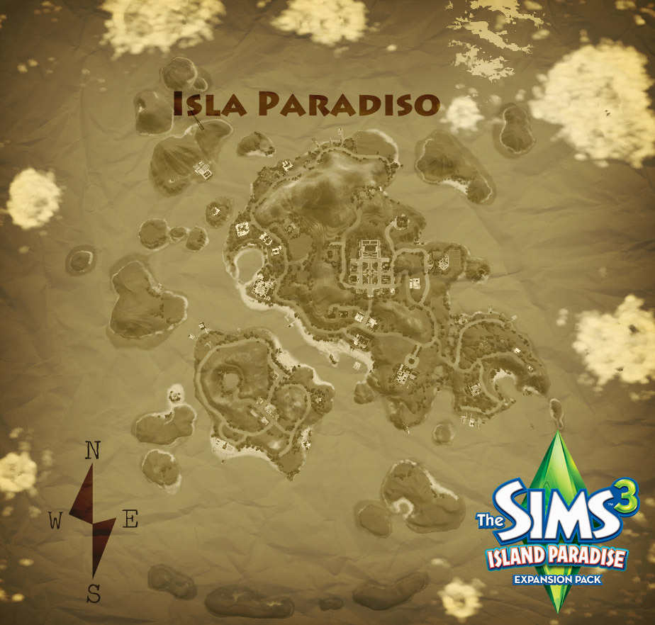 island paradise map snw simsnetworkcom