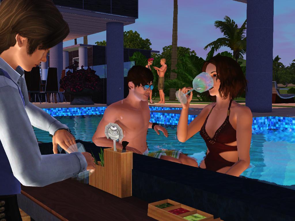 Sims  Island Paradise Making A Resort