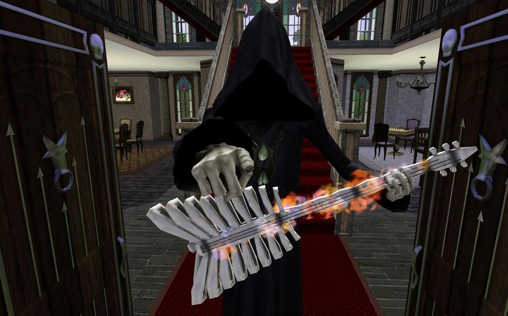 Grim S Ghastly Manor Screens Snw Simsnetwork Com