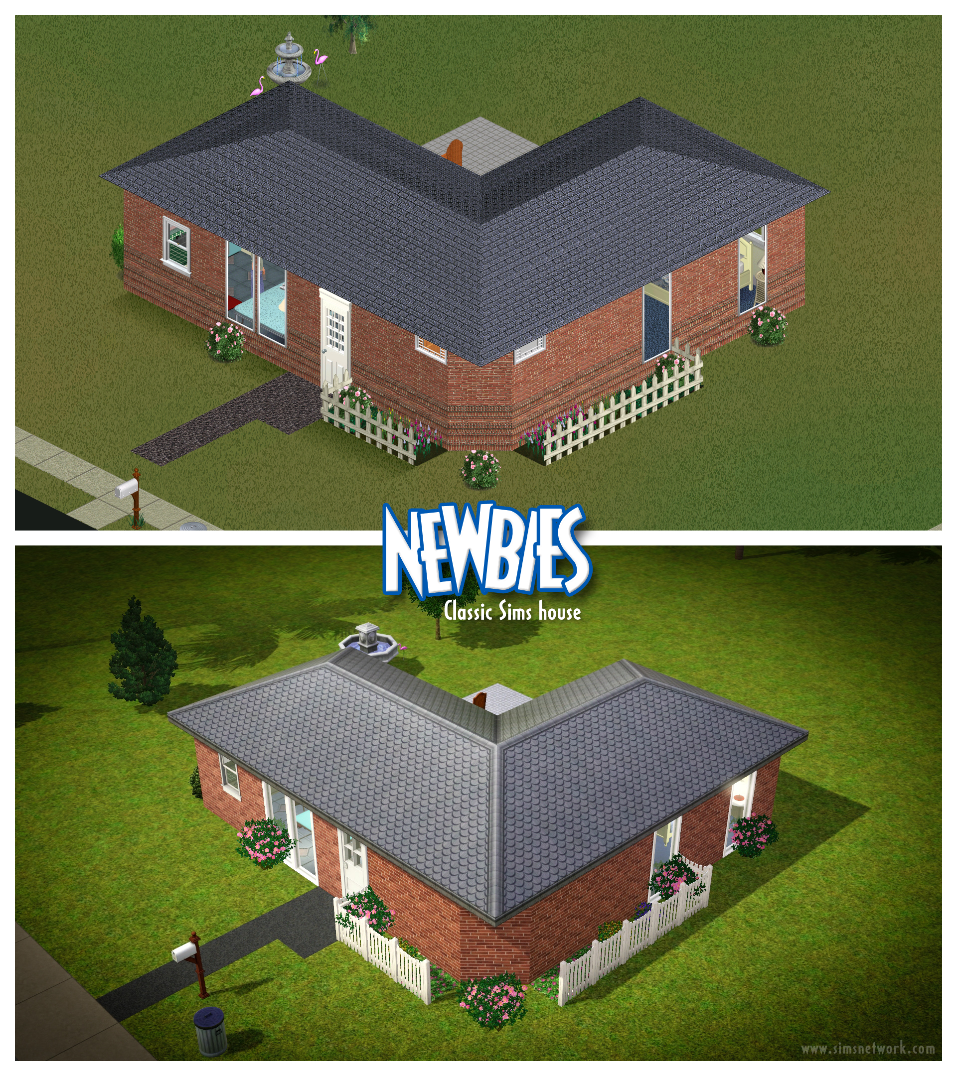 The sims anniversary 2014 snw for Classic house sims 4