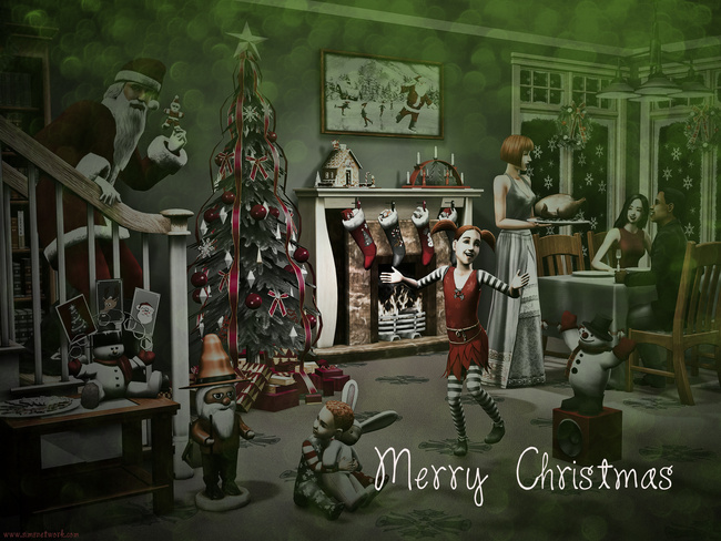 Merry Christmas happy holidays wallpaper xmas 2011