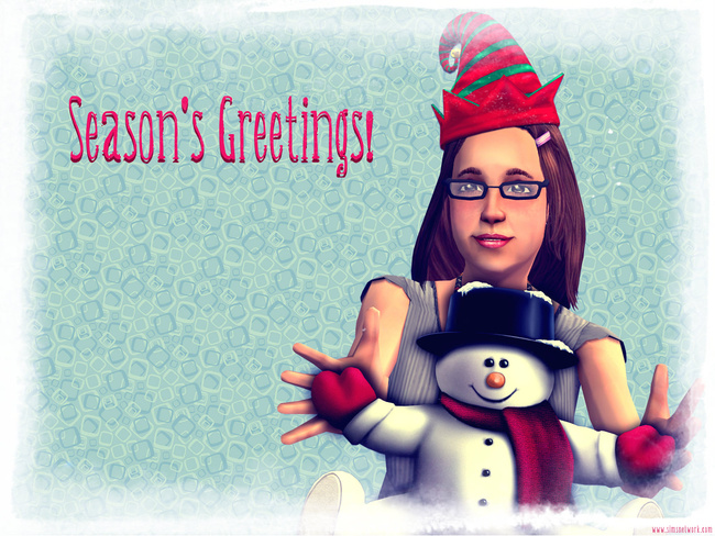 Season's Greetings Merry Christmas happy holidays wallpaper xmas 2011