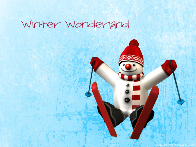 Winter Wonderland Merry Christmas happy holidays wallpaper xmas 2011