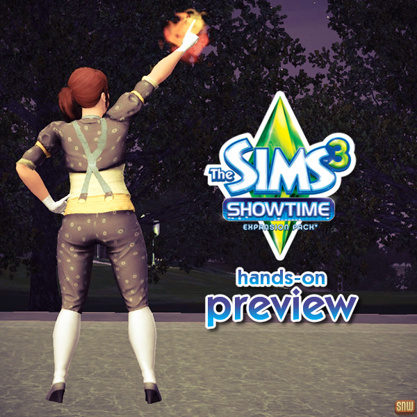 The Sims 3 Showtime Hands-on Preview #2