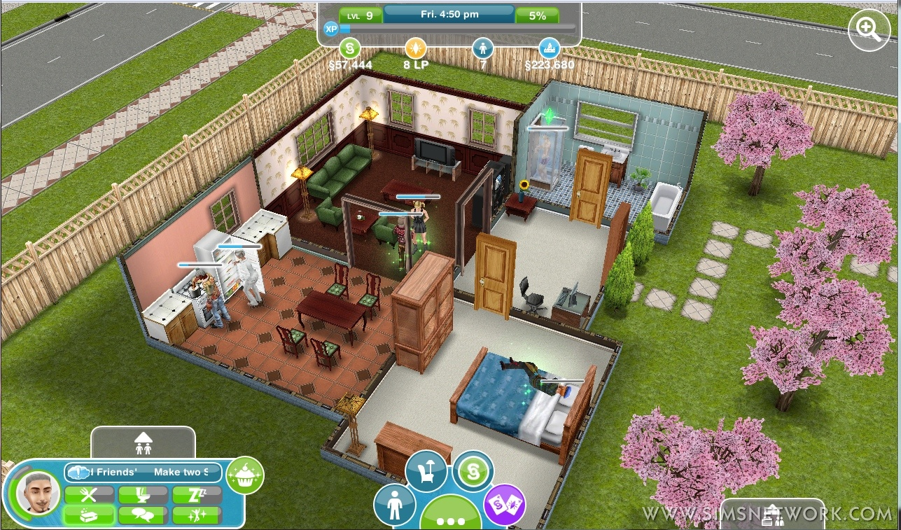 The sims freeplay available in the android market snw - Sims freeplay designer home ...