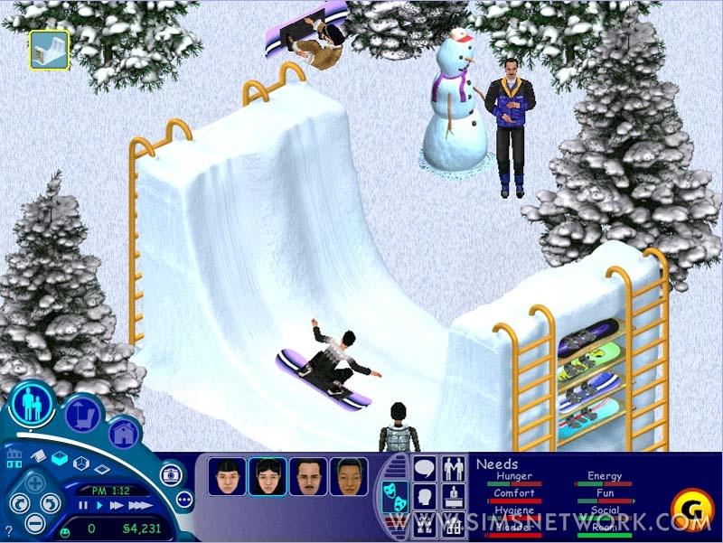 Sims Vacation скачать торрент - фото 11