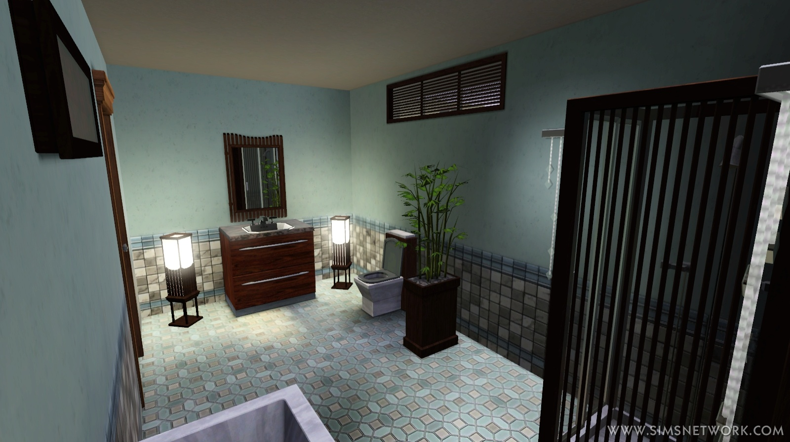 The sims 3 master suite stuff review snw for Sims 3 master bedroom ideas