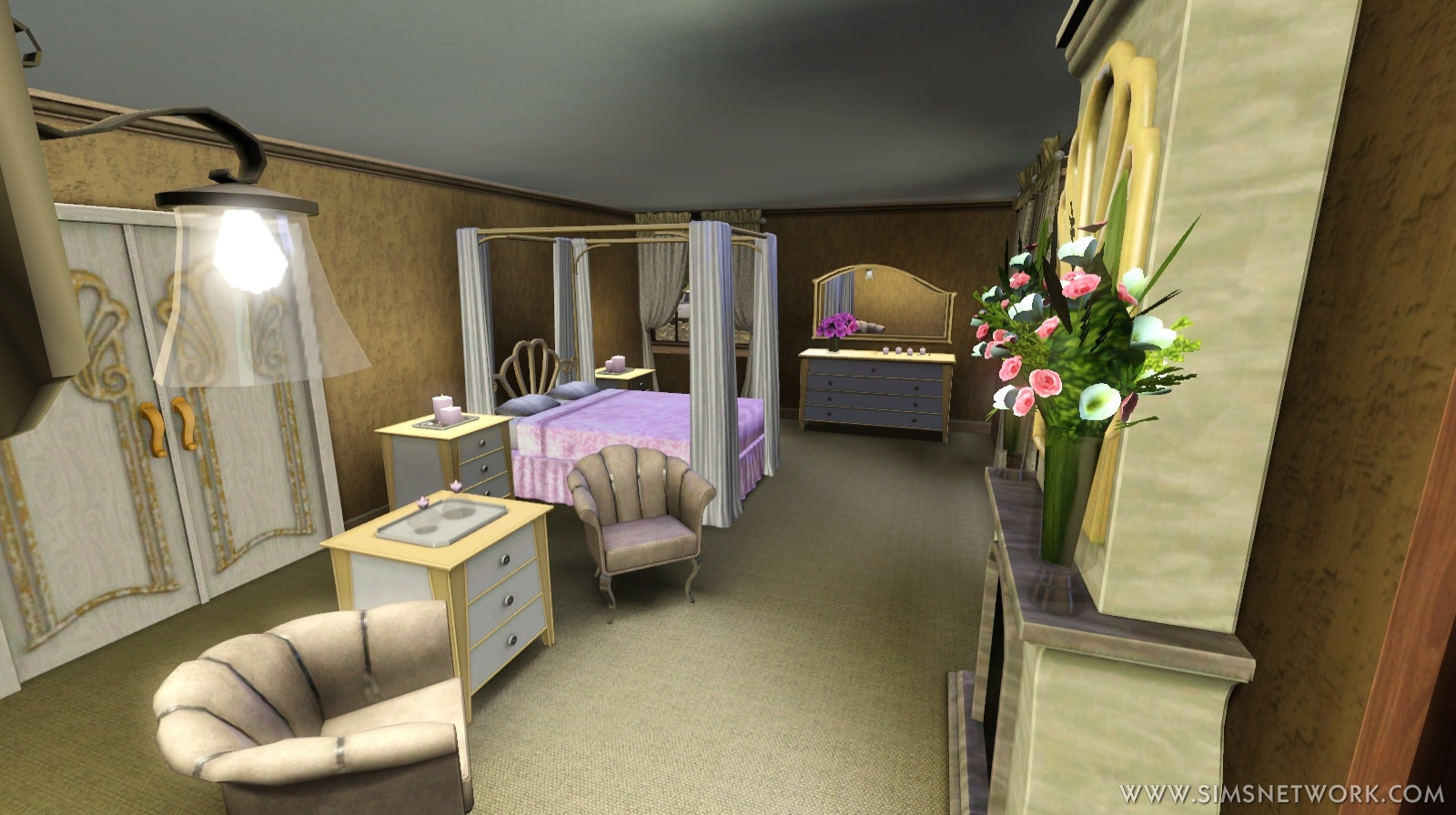 The Sims 3 Master Suite Stuff Review SNW SimsNetworkcom