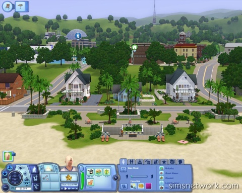 The Sims 3 Create A World Tool