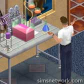 The Sims Livin' Large Comic Strip - The Chemistry Set