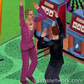 The Sims Livin' Large Comic Strip - The Tragic Clown