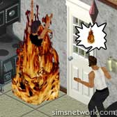 The Sims Livin' Large Comic Strip - The Grim Reaper