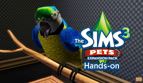 The Sims 3 Pets: Hands-on!