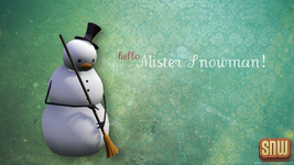 Hello, Mister Snowman! wallpapers on SNW