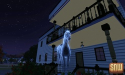 The Sims 3 Pets: Estela the ghost horse