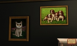 The Sims 3 Pets: Paintings