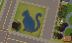 The Sims 3 Pets: Cat Pond