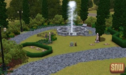 The Sims 3 Pets: Appaloosa Plains Cemetery