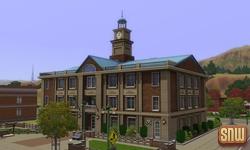 The Sims 3 Pets: Appaloosa Plains community lot