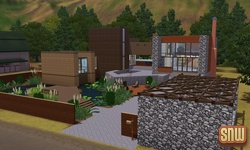The Sims 3 Pets: Appaloosa Plains Modern Homes