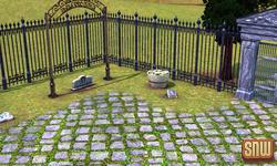 The Sims 3 Pets: Appaloosa Plains Pet Cemetery