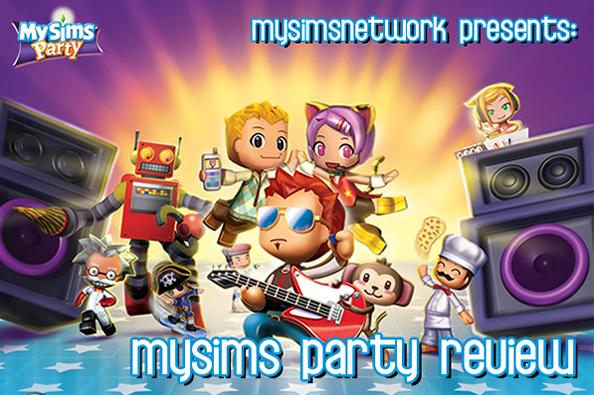 MySimsNetwork reviews MySims Party!
