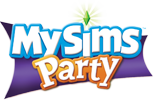 MySims Party logo