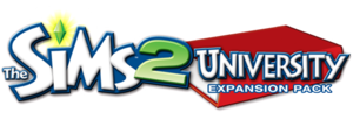 The Sims 2: University logo