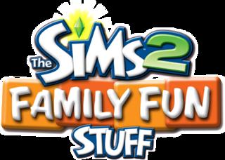 The Sims 2: Family Fun Stuff logo