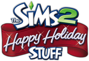 The Sims 2: Happy Holiday Stuff logo