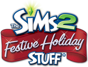 The Sims 2: Festive Holiday Stuff logo