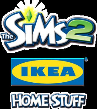 The Sims 2: IKEA Home Stuff logo