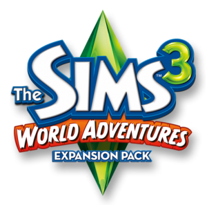 The Sims 3: World Adventures logo