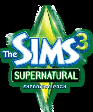The Sims 3: Supernatural logo