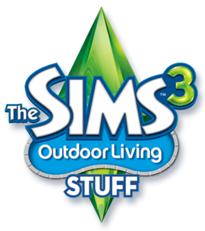 The Sims 3: Outdoor Living Stuff logo
