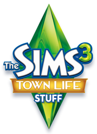The Sims 3: Town Life Stuff logo