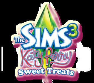 The Sims 3: Katy Perry Sweet Treats logo