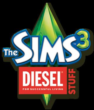 The Sims 3: Diesel Stuff logo
