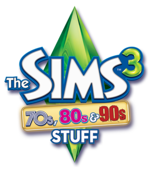 The Sims 3: 70s, 80s & 90s Stuff logo