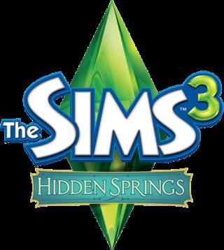 The Sims 3: Hidden Springs logo