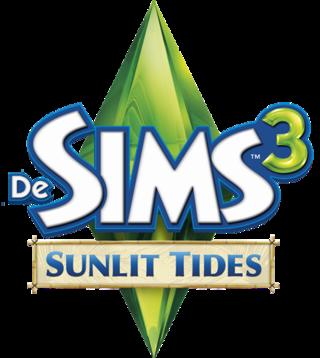 De Sims 3: Sunlit Tides logo