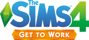 The Sims 4: Get to Work logo