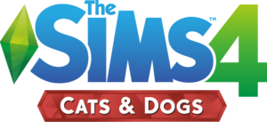 The Sims 4: Cats & Dogs logo