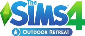 The Sims 4: Outdoor Retreat Box Packshot