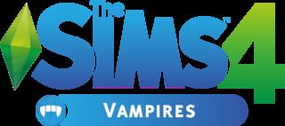 The Sims 4: Vampires logo