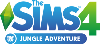 The Sims 4: Jungle Adventure logo