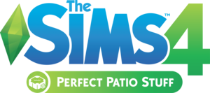 The Sims 4: Perfect Patio Stuff logo