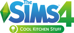 The Sims 4: Cool Kitchen Stuff logo